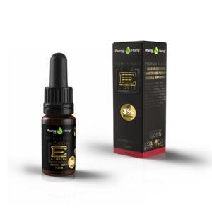 Pharmahemp Premium Black CBD 3% e tekućina aroma amarena trešnja